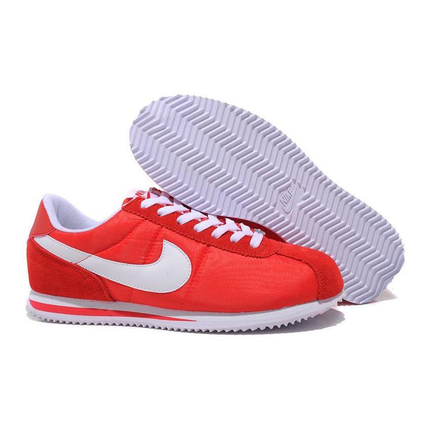 Justicia Estación Tarjeta postal  Nike Cortez Men Nylon Shoes Bright Red, Nike Cortez Women, Nike Cortez Store