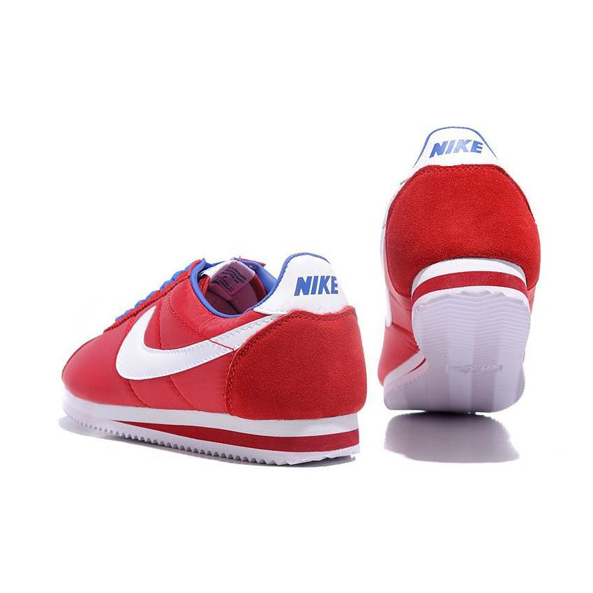 Nike Cortez Women Nylon Shoes Red White Blue 038106e8f