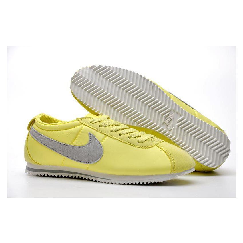81122172d640 Women Nike Cortez 2 Oxford Cloth Shoes Green Grey