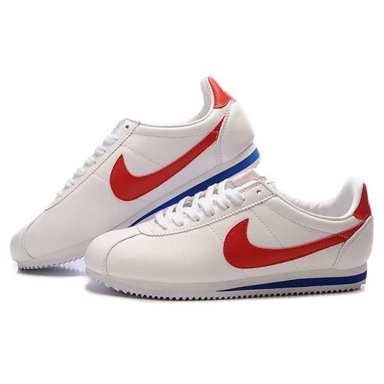 check out 01d85 7ad34 Nike Cortez Men Leather Shoes White Red, Nike Cortez Men ...